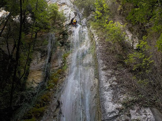 Vallo di Nera, Italien: Forra del Casco