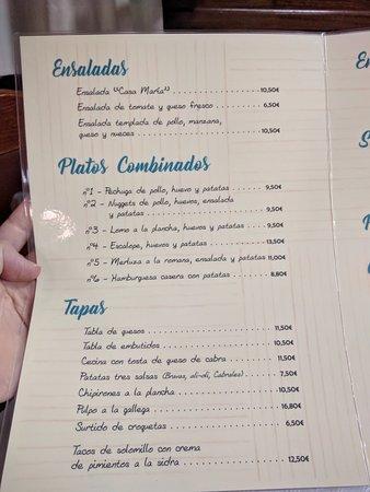 Mestas de Con, Espanha: Carta