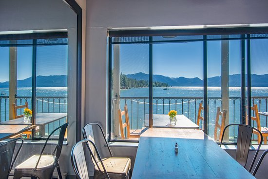 Beach Retreat & Lodge at Tahoe: Mt. Tallac view from the Boathouse