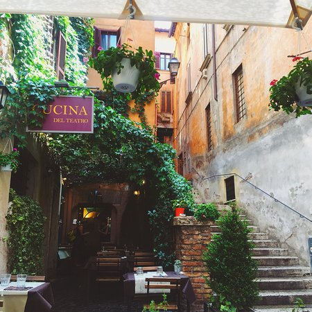Photo0 Jpg Picture Of Cucina Del Teatro Rome Tripadvisor