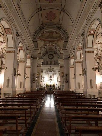 Balestrate, Italie : Kirkens skib