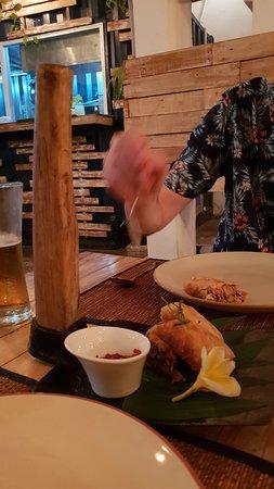 Mays Urban Thai Dine - Bali: spring rolls