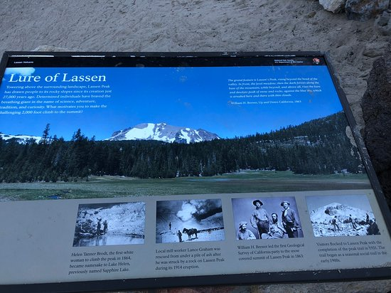 Shingletown, CA: Lassen Peak trailhead is 45 minutes from the KOA