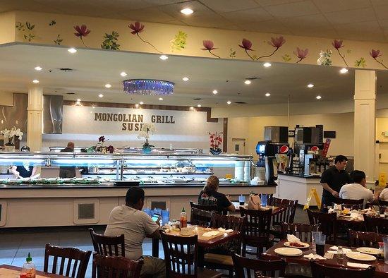 Hibachi Buffet Mongolian Grill And Sushi Bar