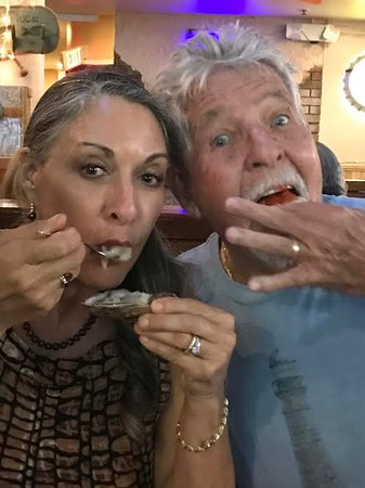 McKenna's Place NSB: Can't get enough of those plump and juicy raw oysters!