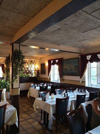 Olstykke, Dania: Restaurationslokale hos Rossini
