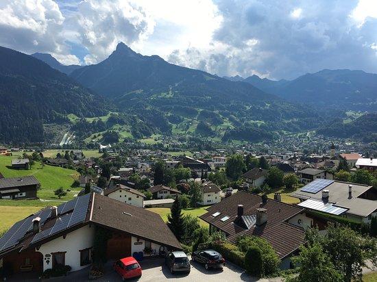 Schruns, Oostenrijk: Aussicht nach Schrund
