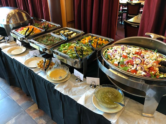 Enjoyable Buffet Line Salads And More Picture Of Mediterranean Download Free Architecture Designs Oxytwazosbritishbridgeorg