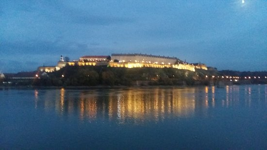 Petrovaradin Fortress with Clock Tower