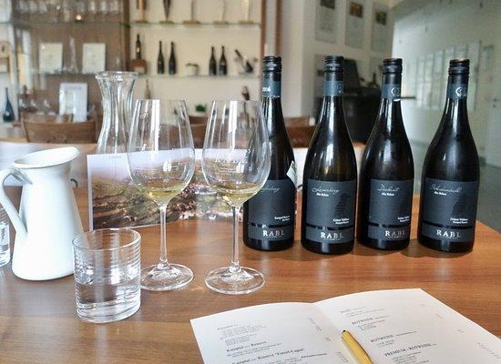 Langenlois, Áustria: Vinsmaking hos Rabl