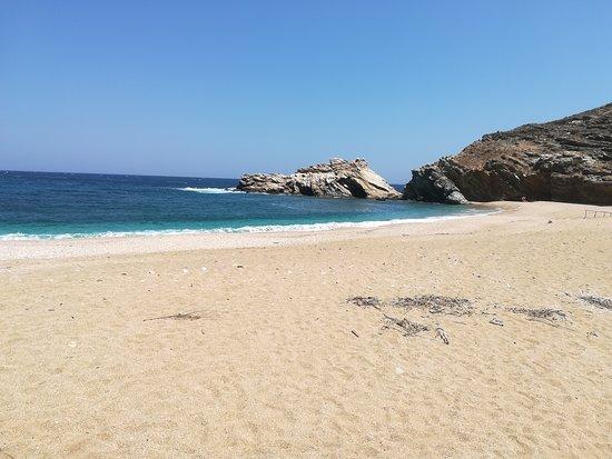 Andros, Hellas: Παραλία Βορη