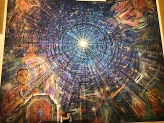 New Orleans Urban Adventures: Beautiful Mural at 801 Royal St