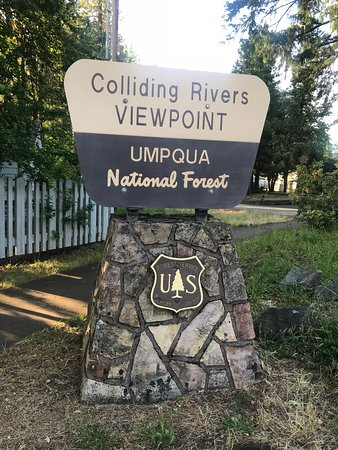 Glide: Colliding Rivers (North Umpqua River & Little River)