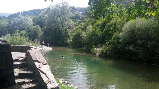 Vovousa, Grecja: Ο Αωος απο το γεφυρι