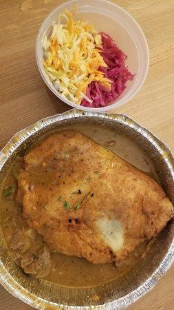 Maspeth, Нью-Йорк: Hungarian Potato Pie. Take out.