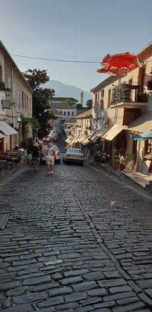 Gjirokastra Bazaar-bild