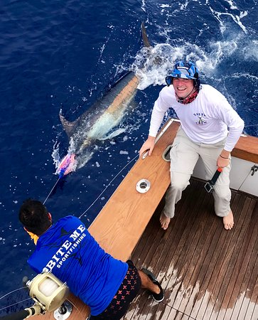 Blue marlin    thank you pacific ocean and Bite-Me crew for