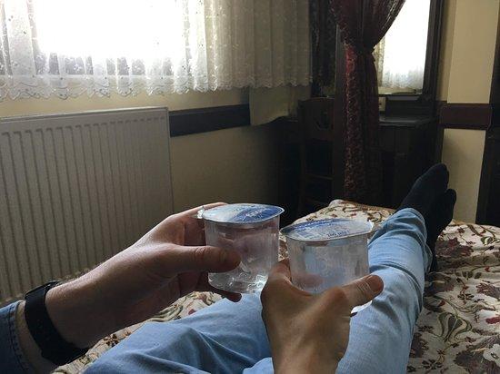 Hotel Alp: в холодильнике бесплатная вода