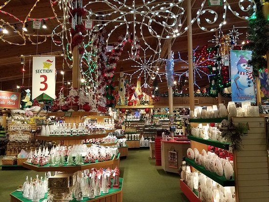 Bronners Christmas Wonderland.Only A Small Section Of The Store Picture Of Bronner S