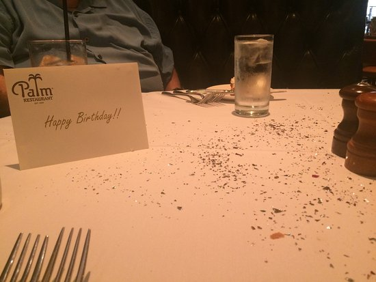 The Palm Las Vegas Confetti And Birthday Card