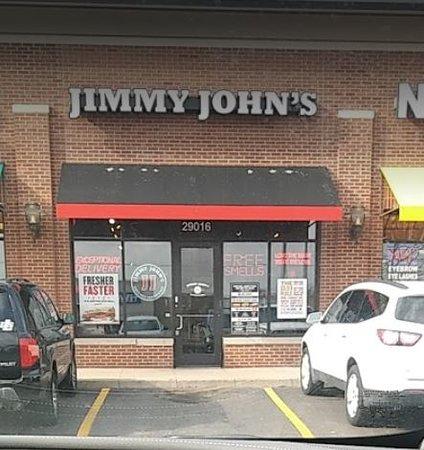 Jimmy johns roseville mi