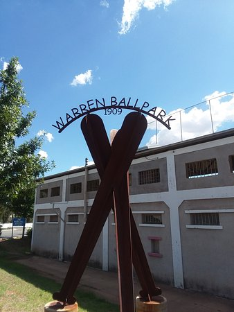 Bisbee, AZ: Historical Warren Ballpark built in 1909 for the miners & their families.