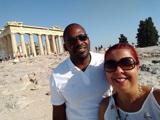 Ακρόπολη: Dia inesquecivel, dia dos NAMORADOS namorados na ACROPÓLIS DE ATENAS