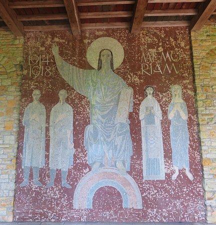 Mozaïek in de erehalle
