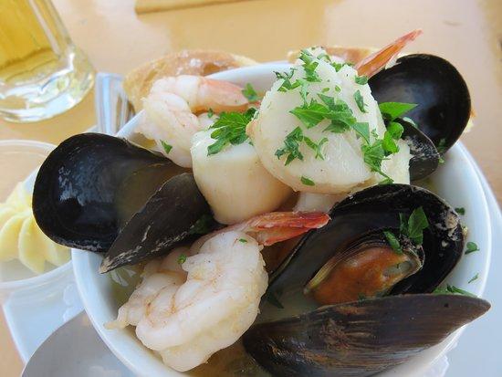 Chester, Canada : Delicious food