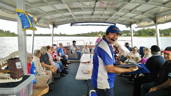 Snapping Tours: Innisfail Probus Club enjoying their Johnstone River outing.