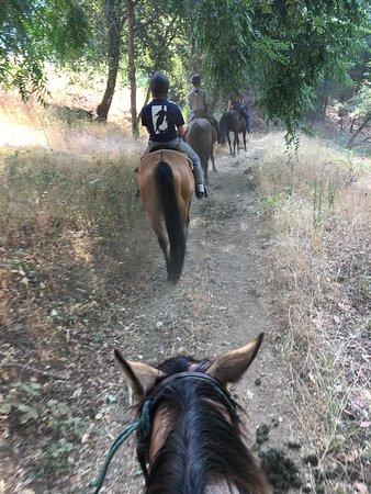 Somes Bar, Kalifornien: Trail ride