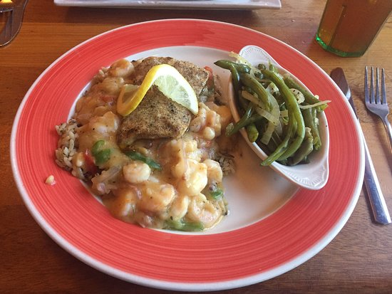 Nick's Boathouse: Maritime Amberjack & Shrimp