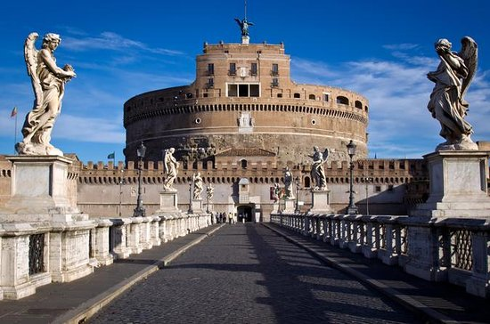 Castel Sant Angelo and San Peter's...