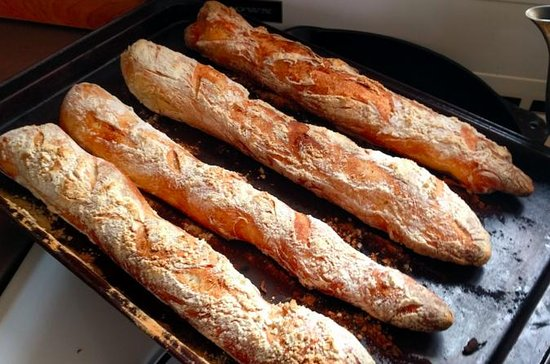 Baking French Baguette