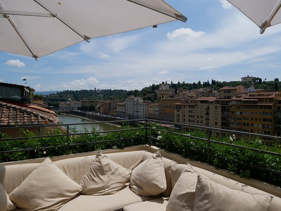 Ausblick Picture Of La Terrazza Rooftop Bar Florence