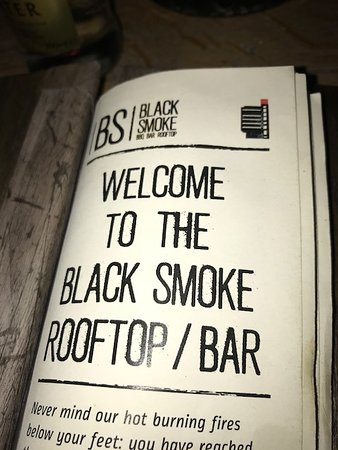 Black Smoke: Rooftop Bar