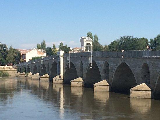 Edirne Province, Turkey: Meric Nehri Bridge