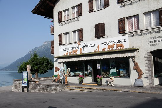 Brienz, Suíça: Shop at the lakeside