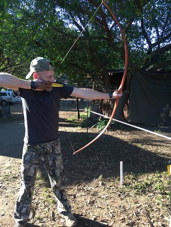 Traditional bows only, the most exciting form of archery