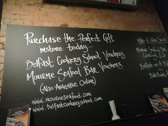 Mourne Seafood Bar: proposte