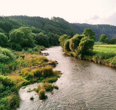 River Our, Ouren, Burg-Reuland Belgium