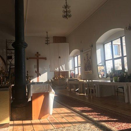 Tabynskoye, Ryssland: Церковь Вознесения Господня. Многие пишут об особой атмосфере этого места. Так оно и есть. В это