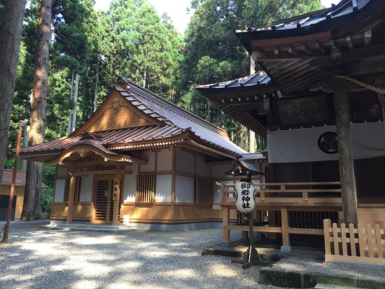 Hitachi, Japan: Shrine proper
