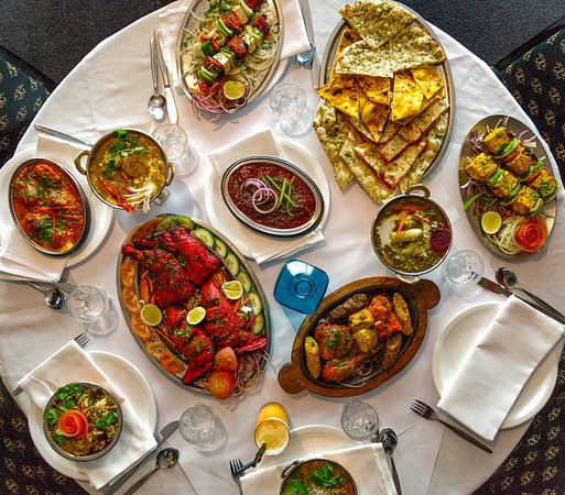 Great India: Small selection of our most deluxe dishes.