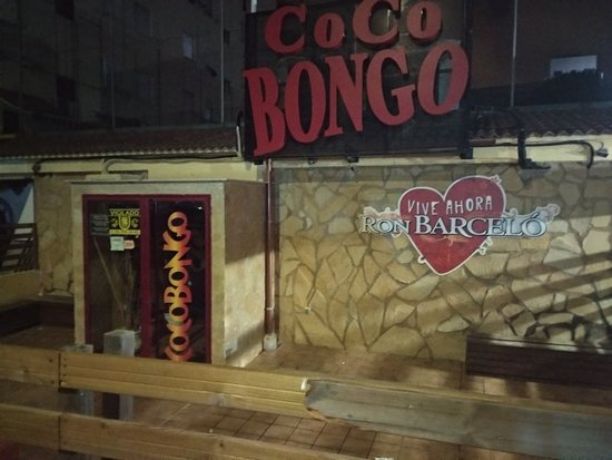 Coco Bongo Playa de Gandia