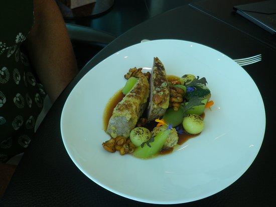 Restaurant Ikarus : Kalbsrücken