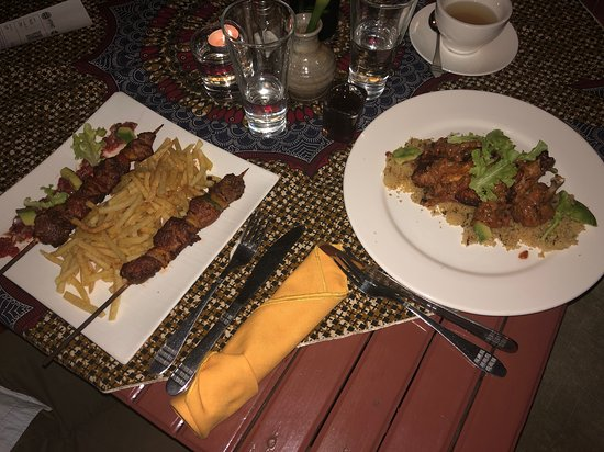 Heaven Restaurant & Boutique Hotel: Dinner: Breef Brochette