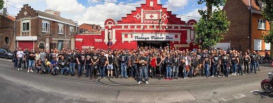 Bethune, Frankrike: Rassemblement Harley