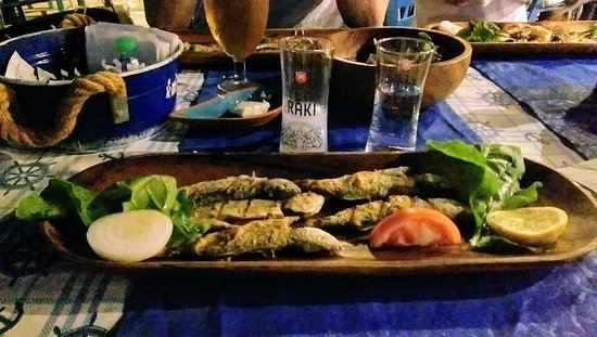 Kalami Table-Rakı Fish - Picture of Kalami Cafe Restaurant, Bursa -  Tripadvisor