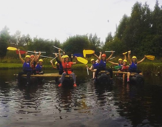 Craggan Outdoors: Hen party rafting
